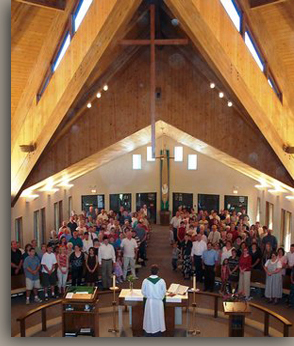 Sanctuary Overhead Photo